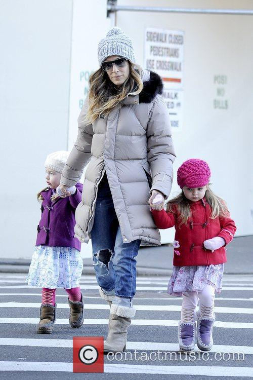 Tabitha Broderick, Sarah Jessica Parker and Marion Broderick 1