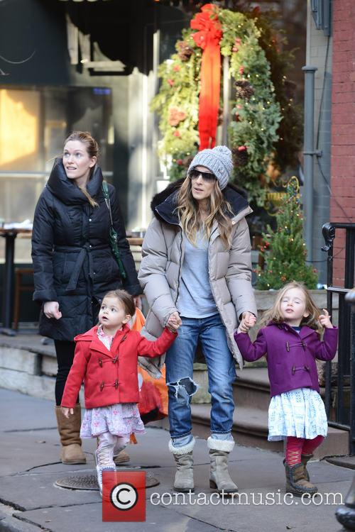 Tabitha Broderick, Sarah Jessica Parker and Marion Broderick 2