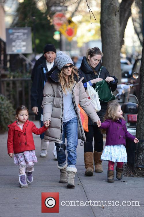 Tabitha Broderick, Sarah Jessica Parker and Marion Broderick 3