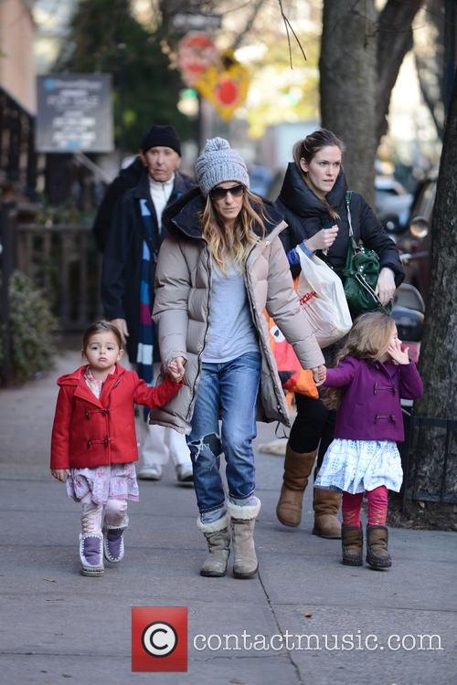 Tabitha Broderick, Sarah Jessica Parker and Marion Broderick 6