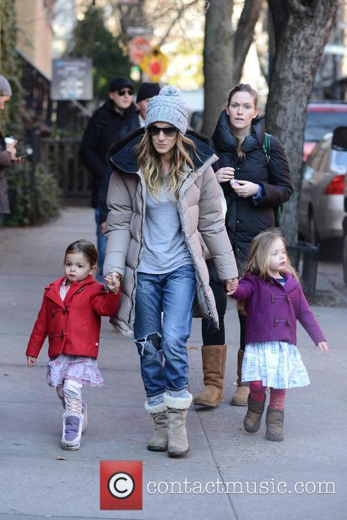 Tabitha Broderick, Sarah Jessica Parker and Marion Broderick 4