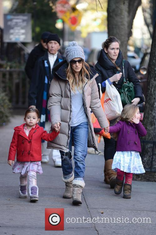 Tabitha Broderick, Sarah Jessica Parker and Marion Broderick 5