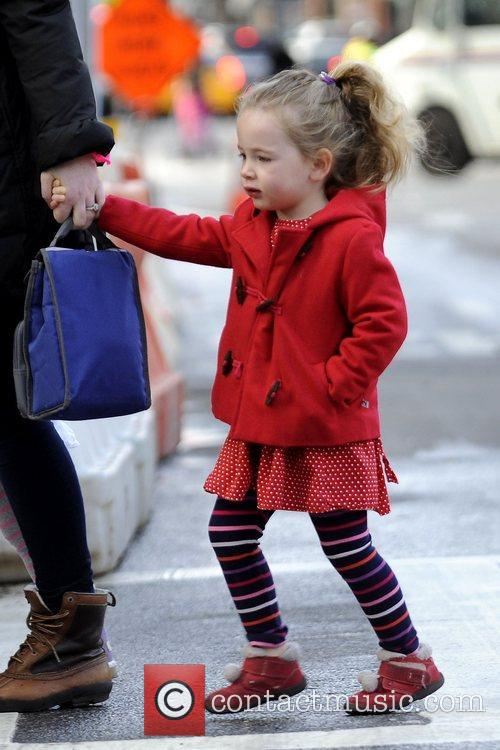 Sarah Jessica Parker's twin daughters, Marion and Tabitha...