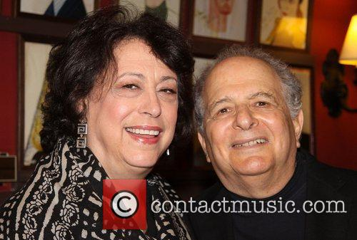 Lynne Meadow and Alfred Uhry  at the...