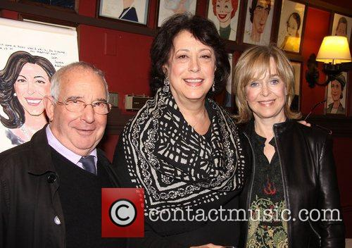 At the Sardi's portrait unveiling for MTC's Lynne...
