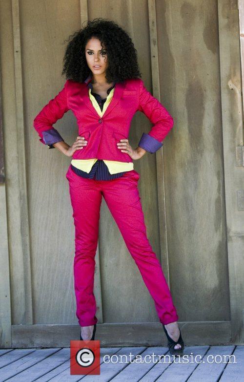 Supermodel Sam Sarpong and Miss Arizona USA 2010...