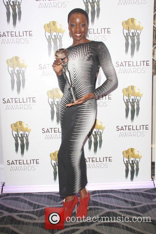 Danai Gurira 17th Annual Satellite Awards held at...
