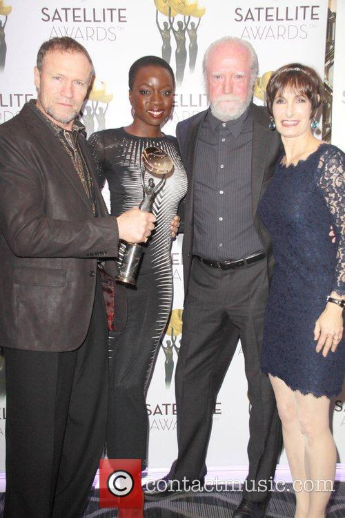 Michael Rooker, Danai Gurira, Scott Wilson and Gale Anne Hurd 1