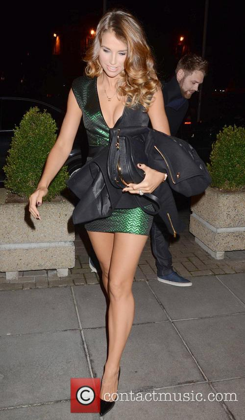 Vogue Williams Attended The Saturday Night Show, RTE,...