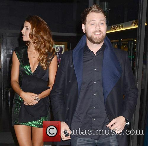 Vogue Williams; Brian McFadden Attended The Saturday Night...