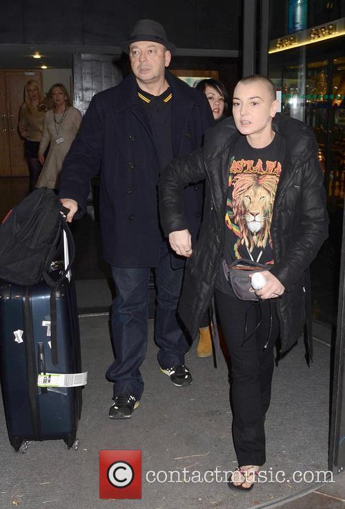 John Reynolds; Sinead O'Connor Celebrities leave the RTE...