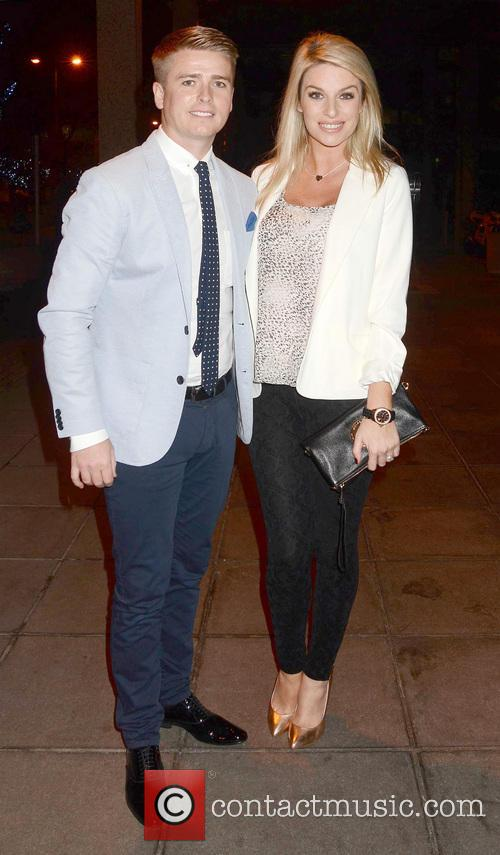 Brian Ormond; Pippa O'Connor Brian McFadden & wife...