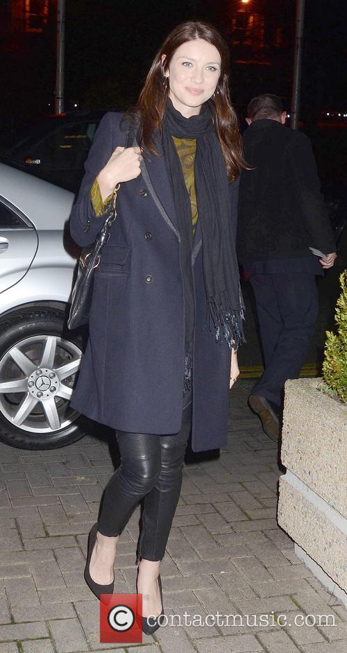 Caitriona Balfe Brian McFadden & wife Vogue Williams...