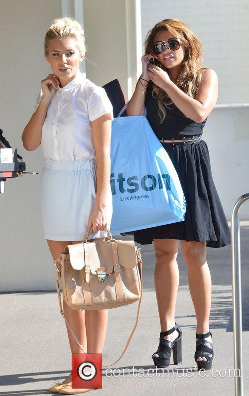 Mollie King and Vanessa White 6