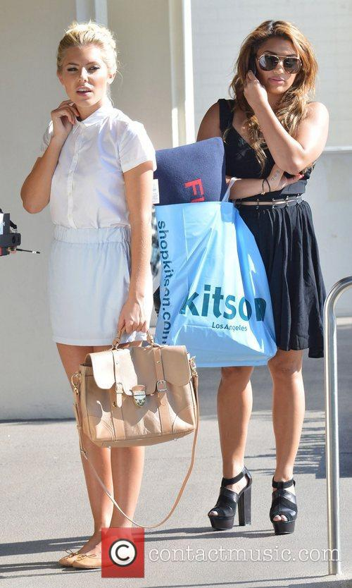 Mollie King and Vanessa White 9