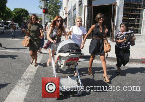 Rochelle Wiseman, Frankie Sandford, Mollie King and Una Healy 6