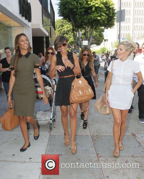 Rochelle Wiseman, Frankie Sandford, Mollie King and Vanessa White 7