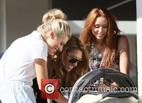 Mollie King, Rochelle Wiseman and Una Healy 3