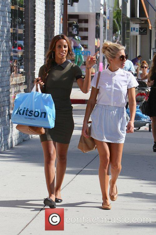 Rochelle Wiseman and Mollie King 1