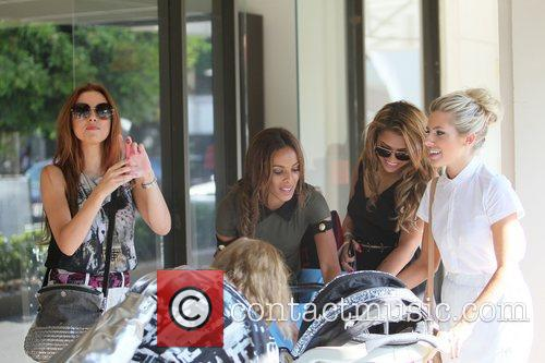 Una Healy, Mollie King, Rochelle Wiseman and Vanessa White 3