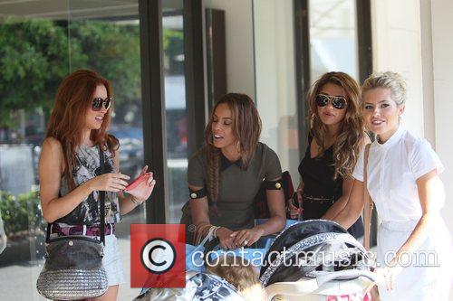 Una Healy, Mollie King, Rochelle Wiseman and Vanessa White 5
