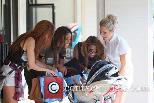 Una Healy, Mollie King, Rochelle Wiseman and Vanessa White 6