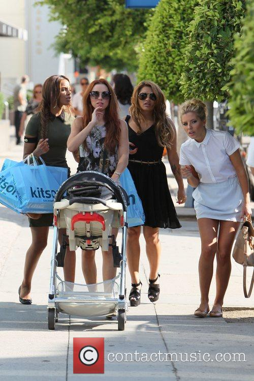 Una Healy, Mollie King, Rochelle Wiseman and Vanessa White 8