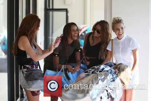 Una Healy, Mollie King, Rochelle Wiseman and Vanessa White 9
