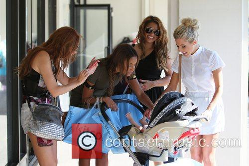 Una Healy, Mollie King, Rochelle Wiseman and Vanessa White 10