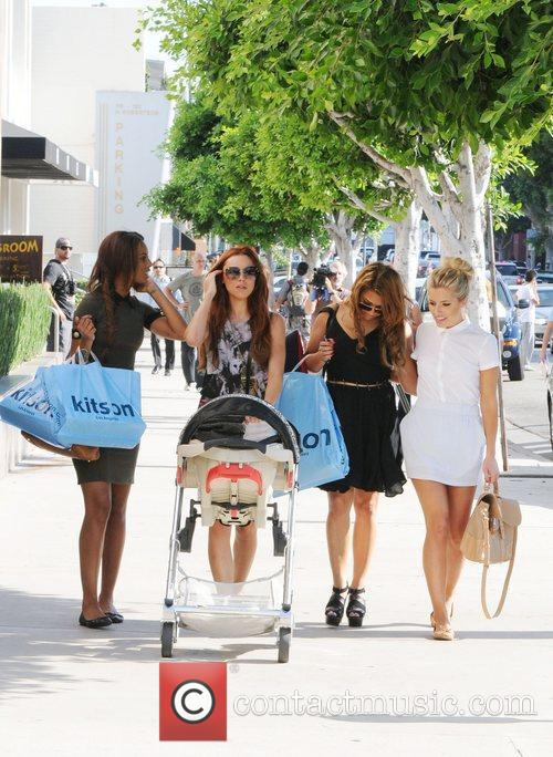 Rochelle Wiseman, Mollie King, The Saturdays, Una Healy and Vanessa White 11