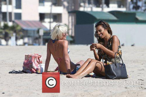 Rochelle Humes, The Saturdays, Victoria Sandford and Venice Beach 9
