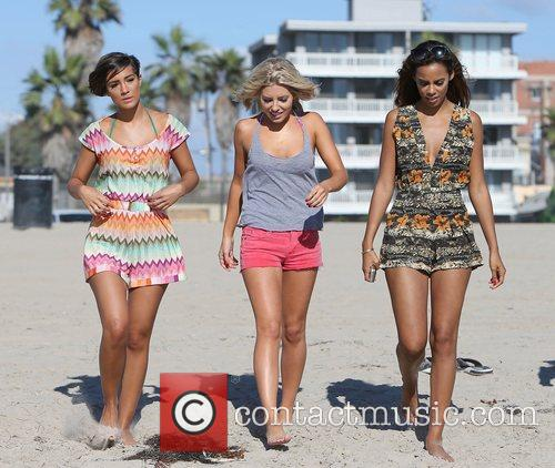 Frankie Sandford, Mollie King, Rochelle Humes and The Saturdays 9