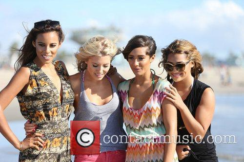 Rochelle Humes, Mollie King, Frankie Sandford, Vanessa White and The Saturdays 2