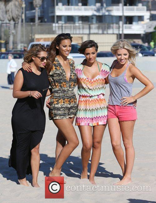 Vanessa White, Rochelle Humes, Frankie Sandford, Mollie King and The Saturdays 9