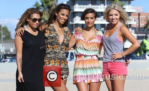 Vanessa White, Rochelle Humes, Frankie Sandford, Mollie King and The Saturdays 11