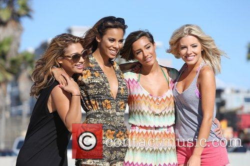 Vanessa White, Rochelle Humes, Frankie Sandford, Mollie King and The Saturdays 8