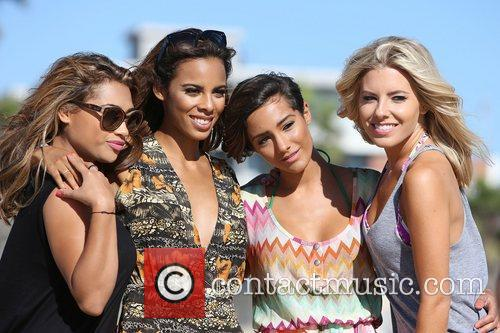 Vanessa White, Rochelle Humes, Frankie Sandford, Mollie King and The Saturdays 14