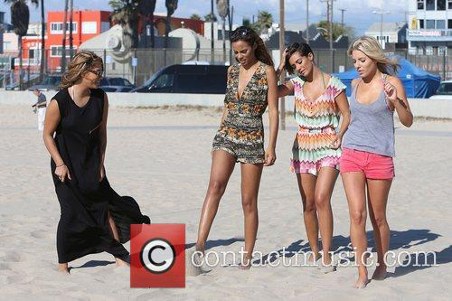 Vanessa White, Rochelle Humes, Frankie Sandford, Mollie King and The Saturdays 10
