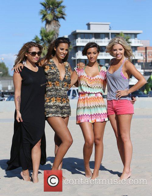 Vanessa White, Rochelle Humes, Frankie Sandford, Mollie King and The Saturdays 4