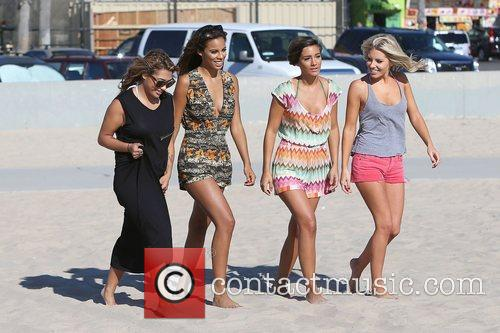 Vanessa White, Rochelle Humes, Frankie Sandford, Mollie King and The Saturdays 3