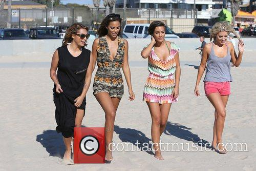 Vanessa White, Rochelle Humes, Frankie Sandford, Mollie King and The Saturdays 13
