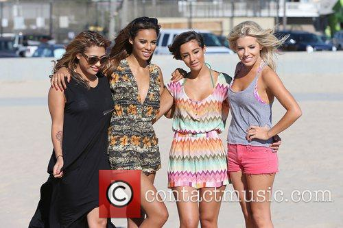 Vanessa White, Rochelle Humes, Frankie Sandford, Mollie King and The Saturdays 1