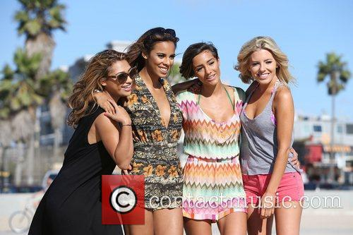Vanessa White, Rochelle Humes, Frankie Sandford, Mollie King and The Saturdays 12