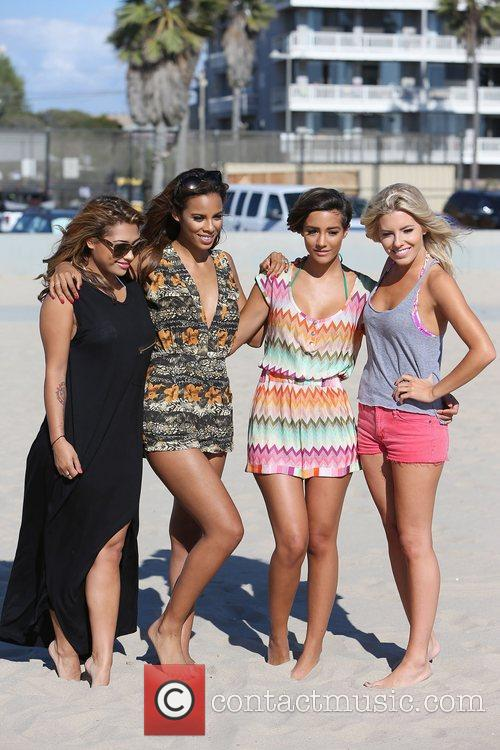 Vanessa White, Rochelle Humes, Frankie Sandford, Mollie King and The Saturdays 5