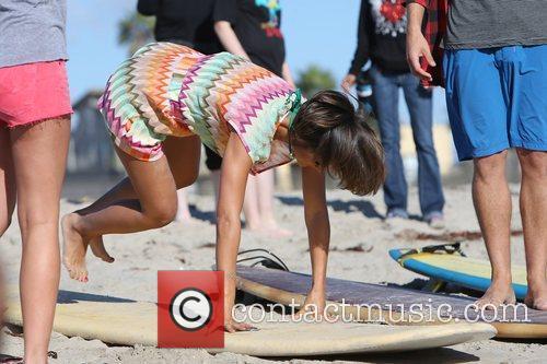 Frankie Sandford, The Saturdays and Venice Beach 4
