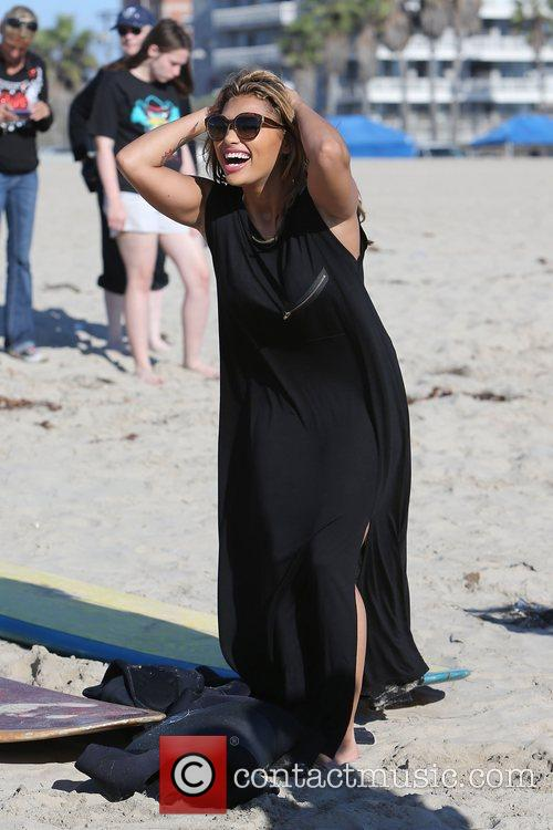 Vanessa White, The Saturdays and Venice Beach 2