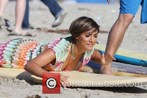 Frankie Sandford, The Saturdays and Venice Beach 7