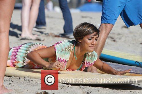 Frankie Sandford, The Saturdays and Venice Beach 5