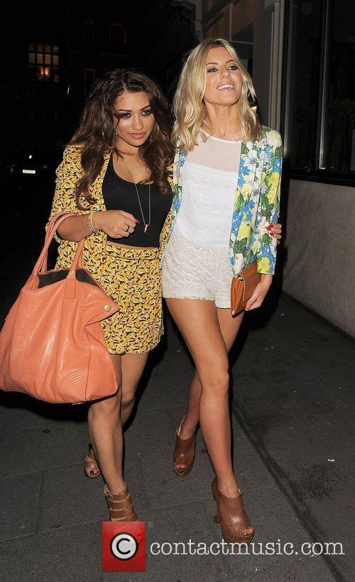 Vanessa White, Mollie King and The Saturdays 10