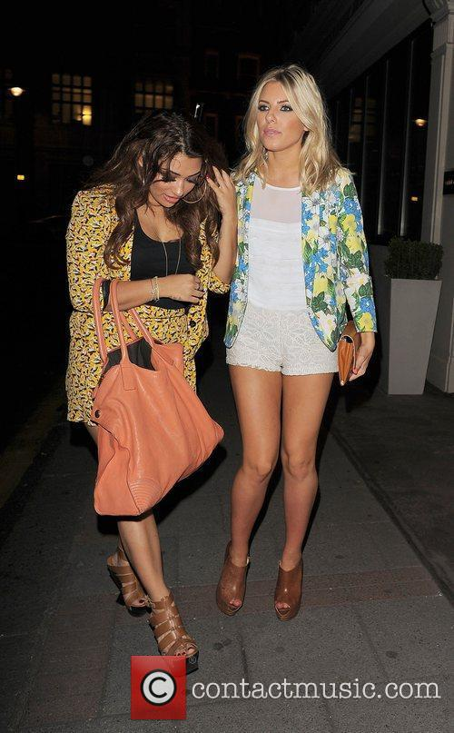 Vanessa White, Mollie King and The Saturdays 11
